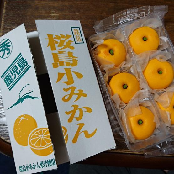 鹿児島 桜島小みかん饅頭