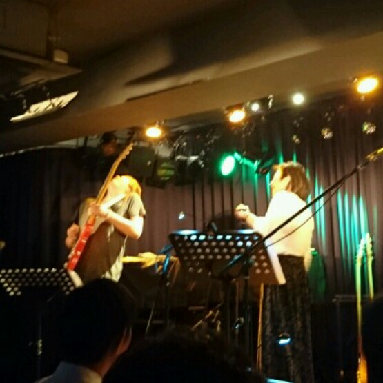 Lyn, JINO, Shuhei & Tomo 池袋アブソルートブルー