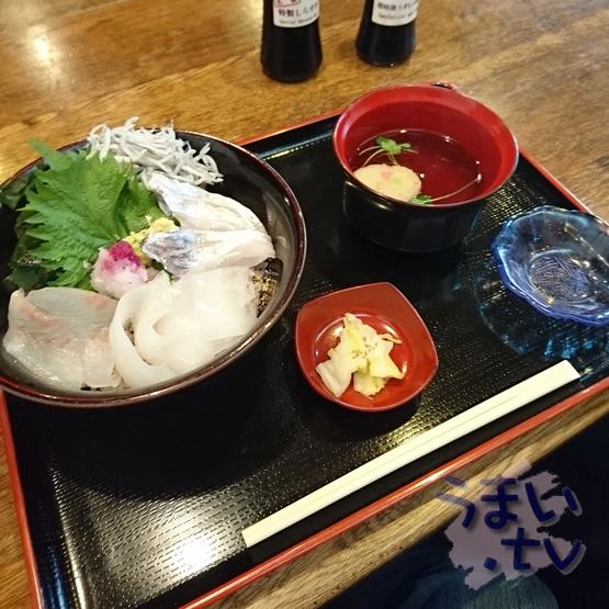 鎌倉 雲水料理 左阿彌「数量限定 湘南の地魚丼」